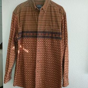 Woolrich Men's Flannel Button Down Shirt Sz Large